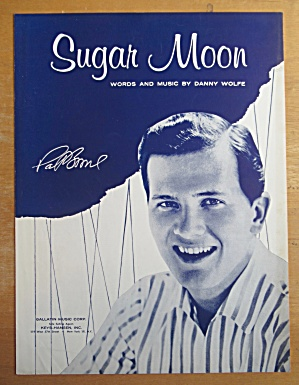 Sheet Music For 1958 Sugar Moon (Pat Boone Cover) (Image1)