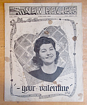Original February 9, 1945 New Review Newsletter