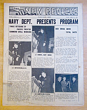 Original March 23, 1945 New Review Newsletter