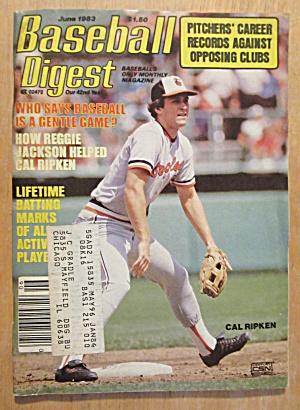 Baseball Digest Magazine June 1983 Cal Ripken (Image1)