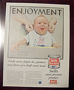 Norman Rockwell 1955 Swift Meat Ad (Image1)