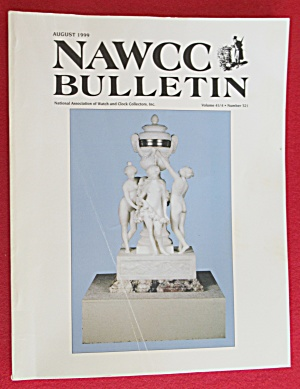 NAWCC Bulletin August 1999 Watch & Clock Collectors  (Image1)