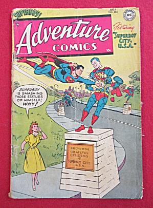 Adventure Comics July 1954 Superboy City USA (Image1)