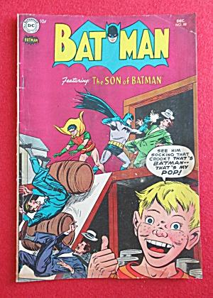Batman Comics December 1954 The Son Of Batman  (Image1)