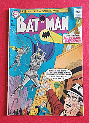 Batman Comics October 1957 The Armored Batman