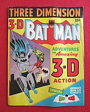 Batman Comics (3-d) 1953 The Fowls Of Fate