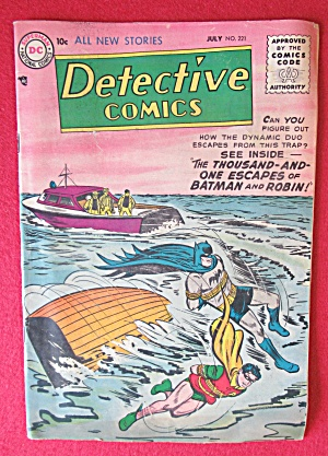 Detective Comics July 1955 Thousand & One Escapes
