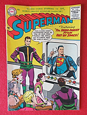 Superman Comics March 1956 Super Family From Out Space