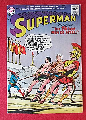 Superman Comics March 1957 The Three Men Of Steel (Image1)