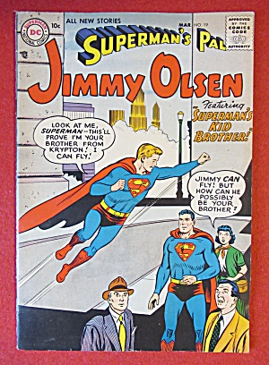 Superman's Pal Jimmy Olsen Comics August 1956