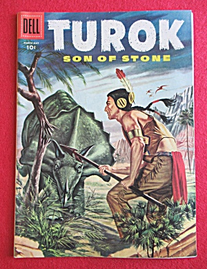 Turok Comic March - May 1956 Strange Waters