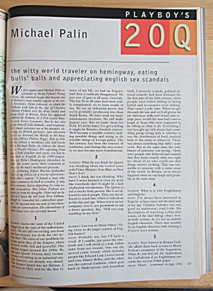 Playboy Magazine-may 2000-sandy & Mandy Bentley