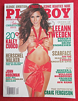 Playboy Magazine December 2011 Rainy Day Jordan