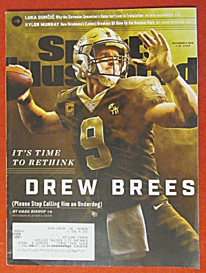 Sports Illustrated Magazine December 3, 2018 Drew Brees (Image1)
