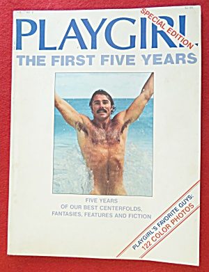 Playgirl Magazine 1978 The First Five Years