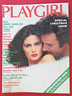 Playgirl Magazine December 1977 Marc Hartman