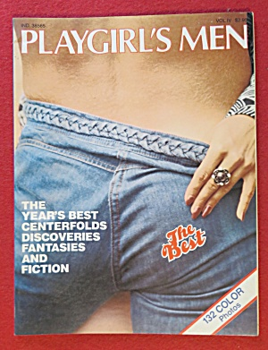 Playgirl's Men Magazine 1978
