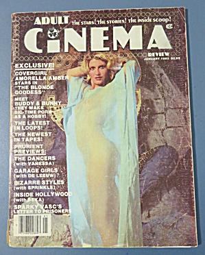 Adult Cinema Magazine January 1982 Amorella Amber  (Image1)