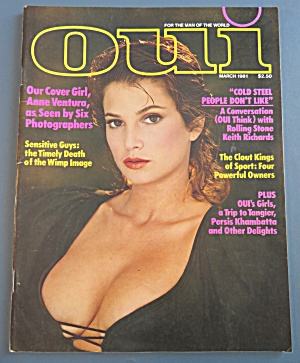 Oui Magazine March 1981 Kim Griffin (Image1)