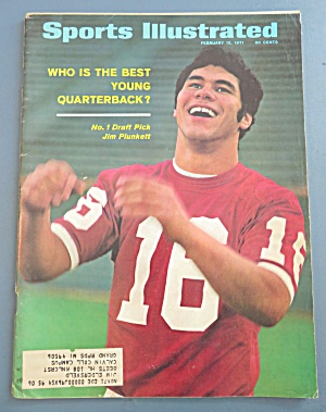 Sports Illustrated-Febuary 15, 1971-Jim Plunkett (Image1)