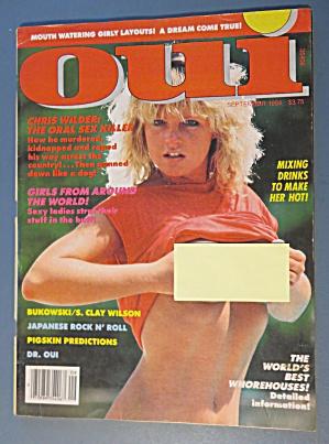 Oui Magazine September 1984 Monique  (Image1)