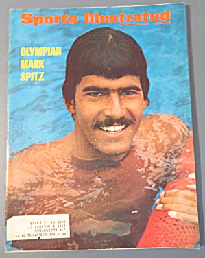 Sports Illustrated Magazine - Sept 4, 1972 - Mark Spitz (Image1)