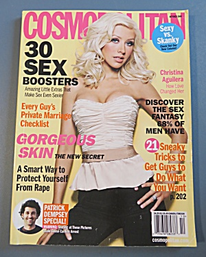 Cosmopolitan Magazine October 2006 C. Aguilera (Image1)
