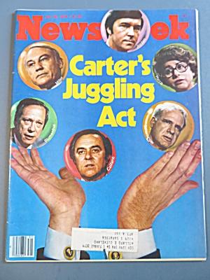 Newsweek Magazine July 30, 1979 Carter's Juggling Act (Image1)