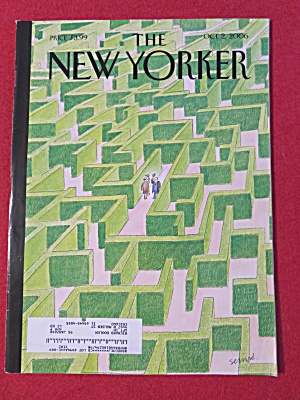 The New Yorker Magazine October 2, 2006 (Image1)