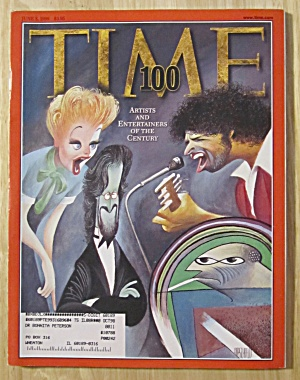 Time Magazine-June 8, 1998-100 Artists & Entertainers (Image1)