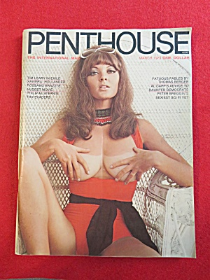 Penthouse Magazine March 1973 Avril Lund  (Image1)