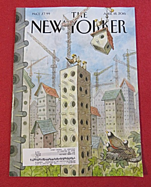 The New Yorker Magazine April 18, 2016 (Image1)