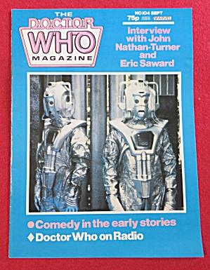 Doctor (Dr) Who Magazine September 1985 Turner/Saward (Image1)