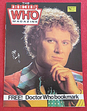Doctor (Dr) Who Magazine October 1985  (Image1)