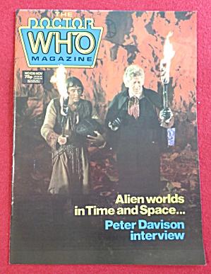 Doctor (Dr) Who Magazine November 1985 Peter Davison (Image1)
