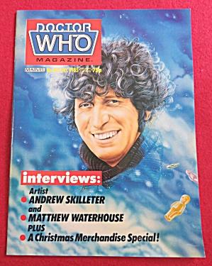 Doctor (Dr) Who Magazine December 1985 Skilleter (Image1)