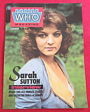Doctor (Dr) Who Magazine March 1986 (Image1)