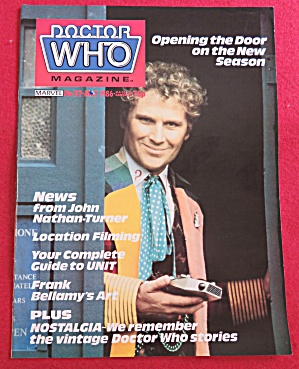 Doctor (Dr) Who Magazine May 1986 (Image1)