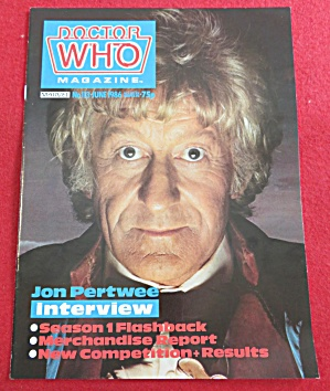Doctor (Dr) Who Magazine June 1986 (Image1)
