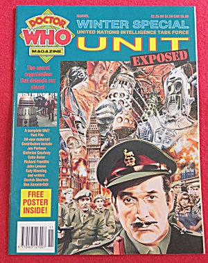 Doctor (Dr) Who Magazine Winter 1991  (Image1)