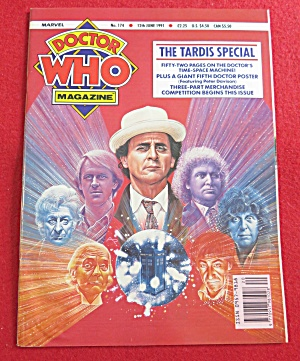 Doctor (Dr) Who Magazine June 12, 1991 (Image1)