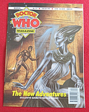 Doctor (Dr) Who Magazine July 10, 1991 (Image1)
