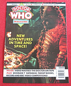 Doctor (Dr) Who Magazine March 13, 1991 (Image1)