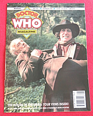 Doctor (Dr) Who Magazine August 7, 1991 (Image1)
