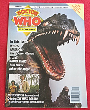 Doctor (Dr) Who Magazine September 4, 1991 (Image1)