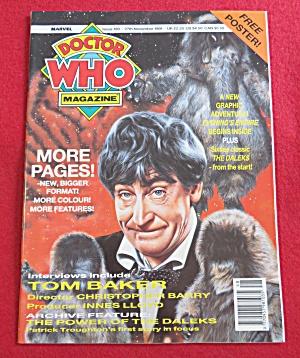 Doctor (Dr) Who Magazine November 27, 1991 (Image1)