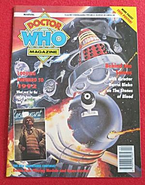 Doctor (Dr) Who Magazine December 25, 1991  (Image1)
