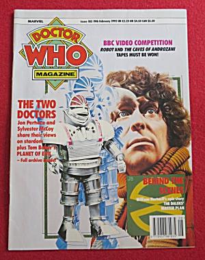 Doctor (Dr) Who Magazine February 19, 1992 (Image1)