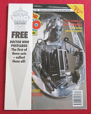 Doctor (Dr) Who Magazine March 18, 1992  (Image1)