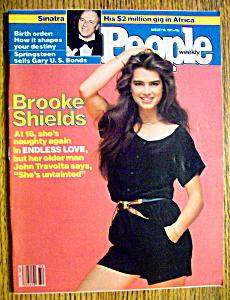 People Magazine-August 10, 1981-Brooke Shields (Image1)